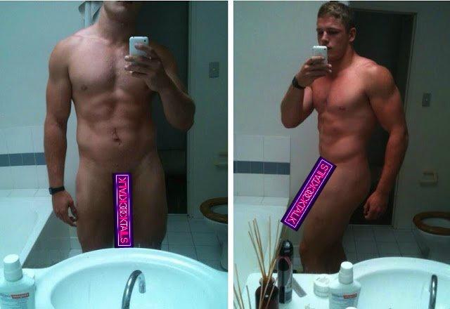 naked rugby George burgess