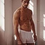 MAN CANDY: David Gandy In His Tighty Whities For New M&S Collection