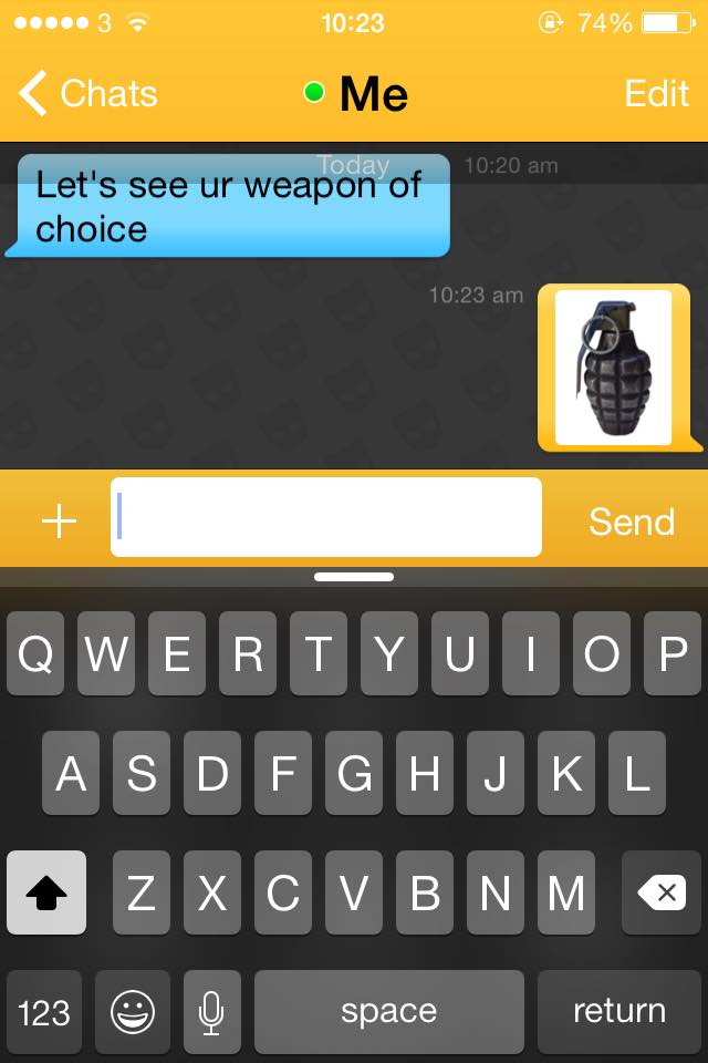grindr-weapon