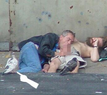Sucking Homeless Cock