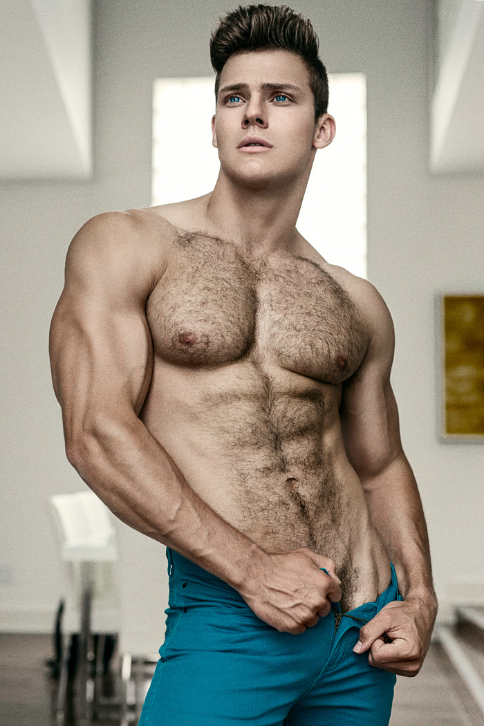 nude male model hairy