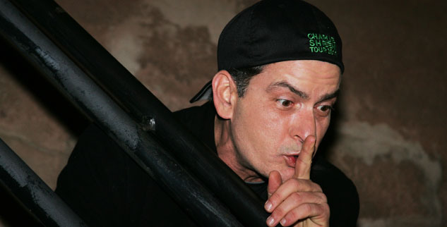 """Charlie Sheen's, """"Violent Torpedo of Truth/Defeat is not an option"""" event held at The Massey Hall in Toronto, Canada. Pictured: Charlie Sheen Ref: SPL267983 140411 Picture by: London Ent / Splash News Splash News and Pictures Los Angeles: 310-821-2666 New York: 212-619-2666 London: 870-934-2666 photodesk@splashnews.com"""